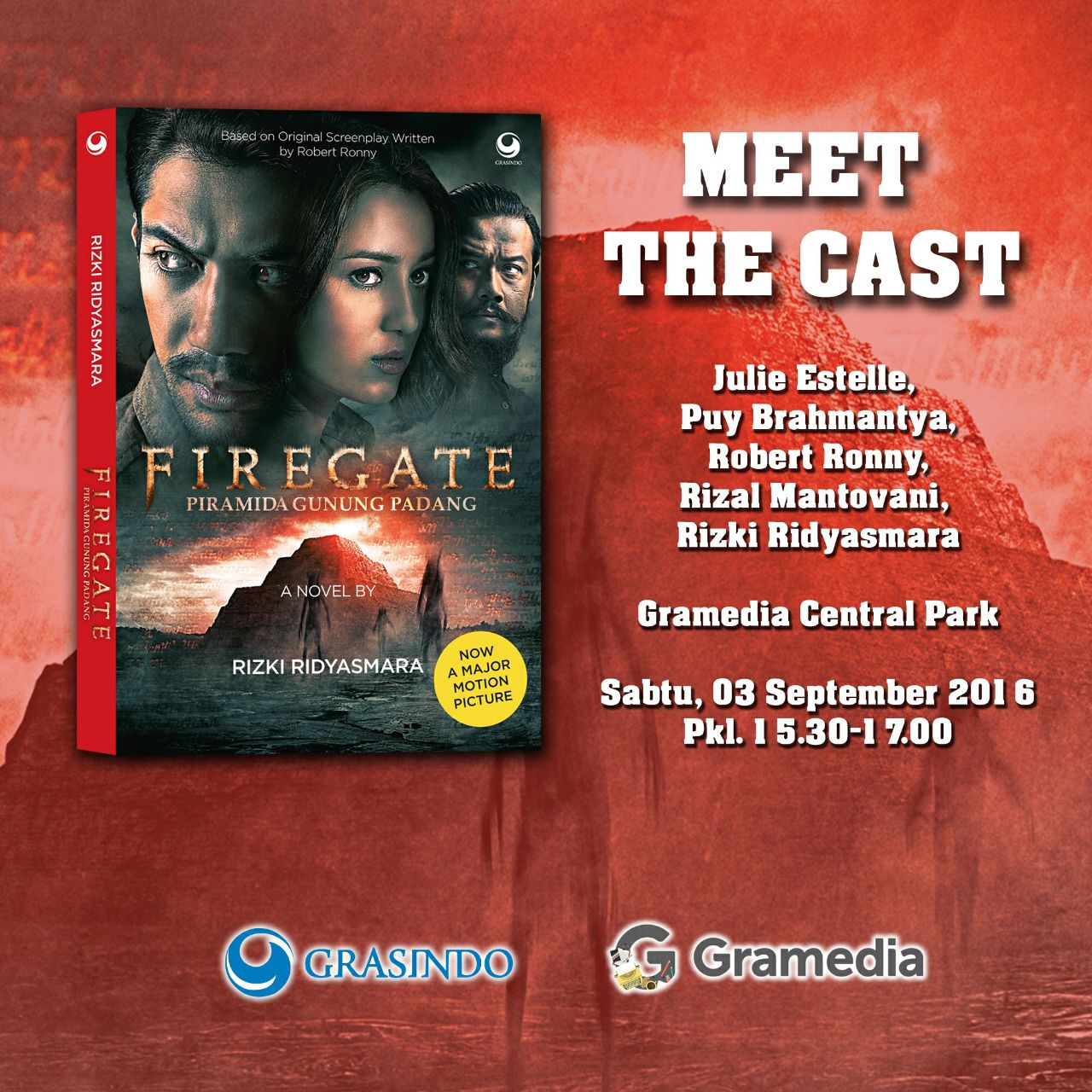 Meet The Cast #FIREGATE (Book Launching)