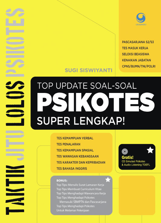 Top Update Soal-soal Psikotes Super Lengkap