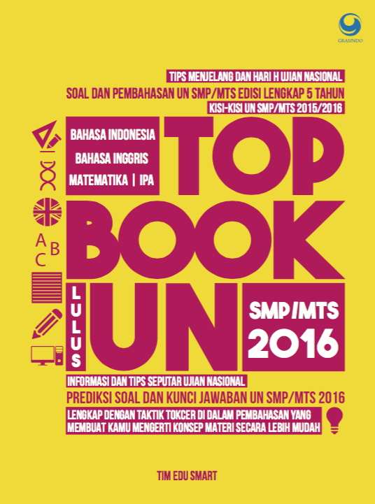 Tob Book Lulus UN SMP/MTs 2016+CD